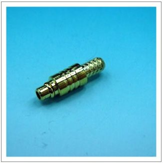 MMCX PLUG STRAIGHT FOR CABLE CRIMP TYPE